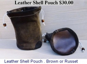 Leather Shell Pouch